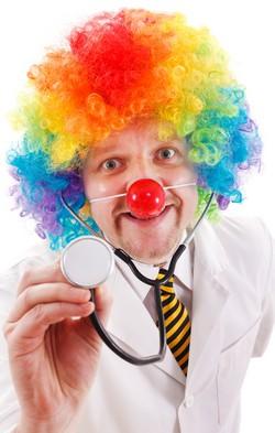 Клоунотерапия. Поделись улыбкой своей…