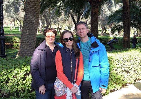 Пономаревы, Россия, Екатеринбург, Отзыв о комплексной диагностике в Израиле