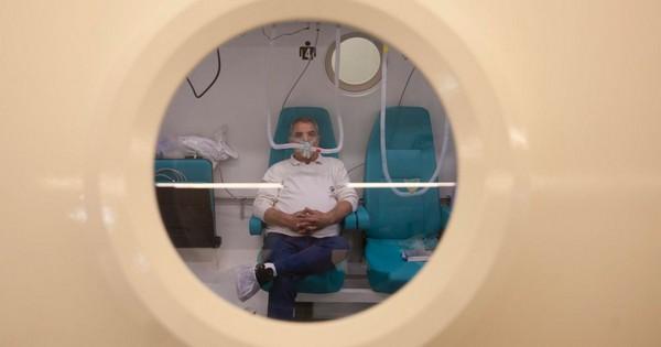 Улучшить функции мозга? Избавиться от последствий аварии? Пожалуйте в гипербарическую камеру!